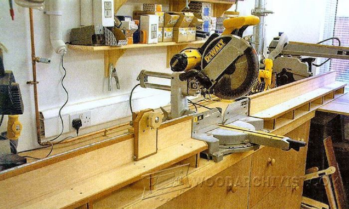 Miter Saw Table Plans Miter Saw Tips Jigs And Fixtures