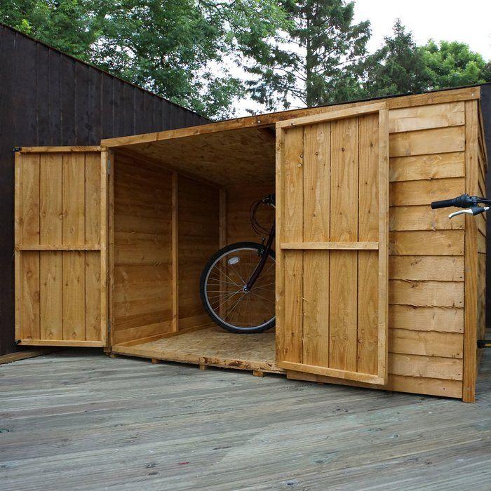 25 best ideas about bike shed on pinterest outdoor bike. Black Bedroom Furniture Sets. Home Design Ideas