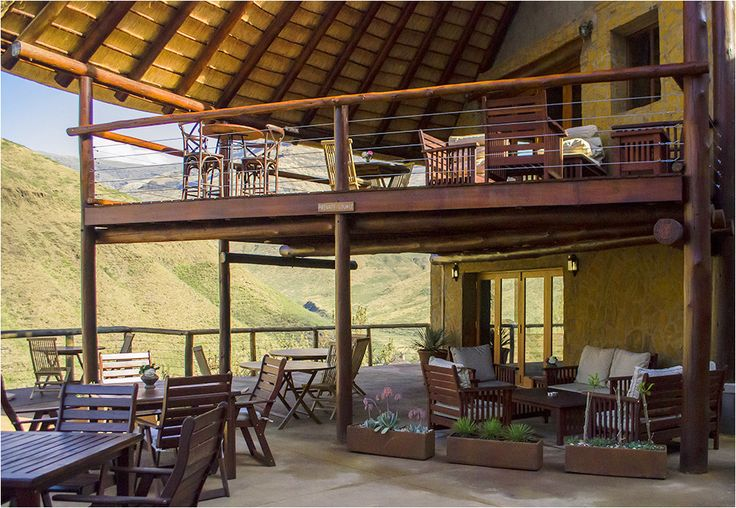 Main Lodge Deck #Lesotho #MalibaLodge