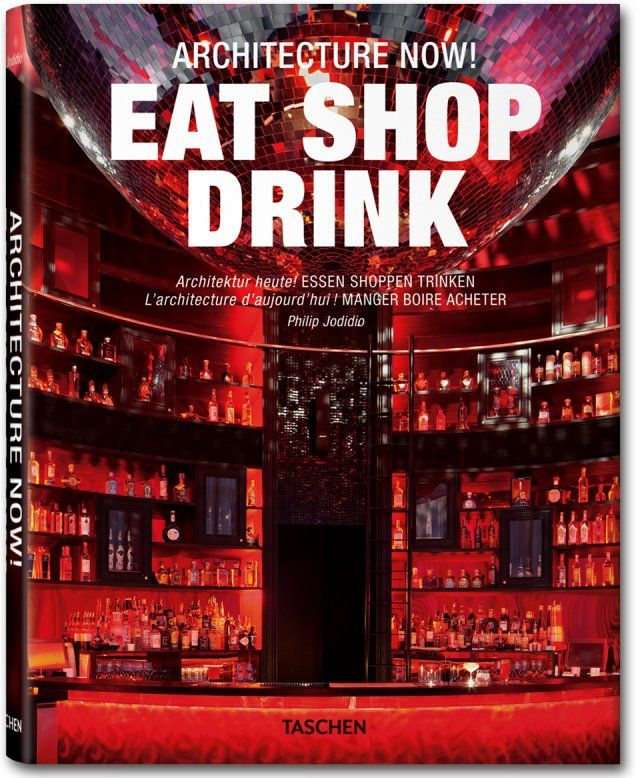 Architecture Now! Eat Shop Drink: Worth Reading, Shops Drinks, Taschen Books, Philip Jodidio, Books Worth, Tobacconist Shops, Eating Shops, Tobacco Shops, Coff Tables Books