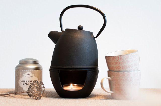 Teekanne Gusseisen Nicolas Vahe Teekanne Stövchen