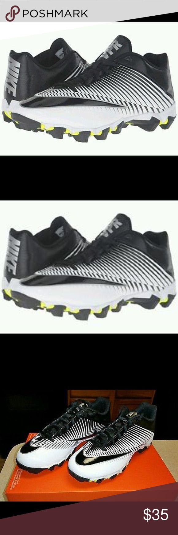 Brand New Vapor Shark Brand New Vapor Shark  Nike 833388-002 Vapor Shark 2 Black Football Cleats Soccer Youth nike Shoes