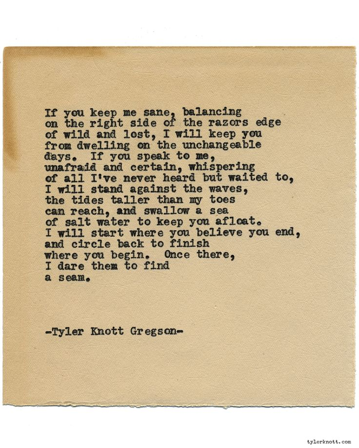 Typewriter Series #1350 by Tyler Knott GregsonCome say hello @TylerKnott on Instagram, Facebook, and Twitter!