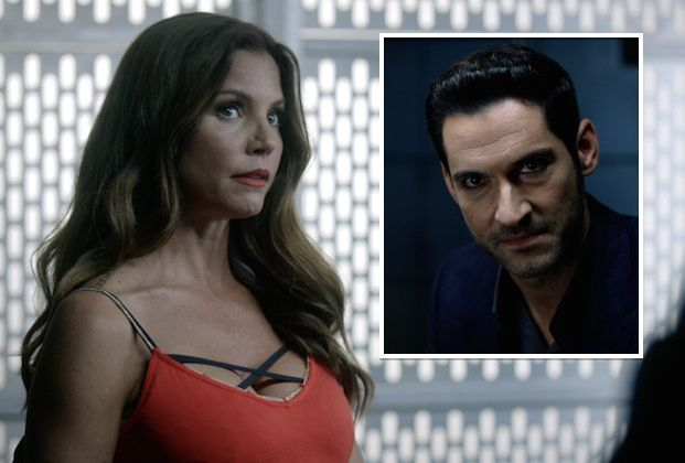 "Angel's Charisma Carpenter goes up against the Devil, insisting she didn't kill Wesley (!), in this exclusive sneak peek from Fox's Lucifer. In the episode ""Weaponizer&#8221…"