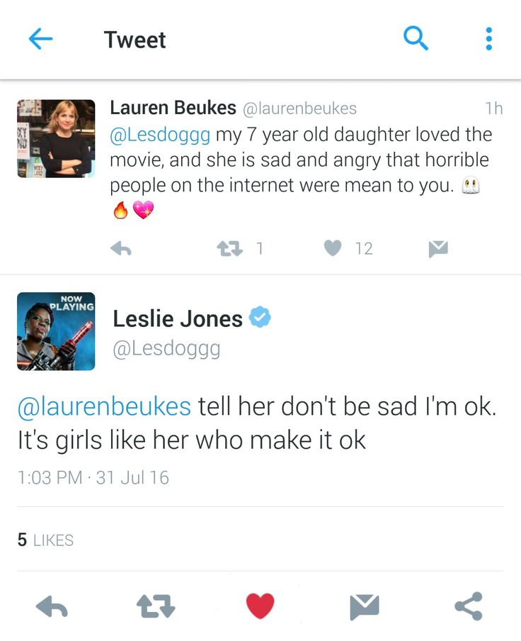 """The misogynistic and racist attacks against Leslie Jones became so vicious that she took a break from Twitter, saying, """"It's just too much. It shouldn't be like this. So hurt right now."""" The tweets were so ugly that Ghostbusters director Paul Feig started a #LoveForLeslieJ movement so fellow members of Hollywood, as well as fans, could share their affection for her."""