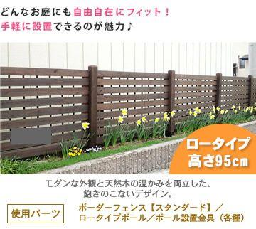 ボーダーフェンス 【スタンダード】(高さ79cm) 1枚単品_jsbf-790