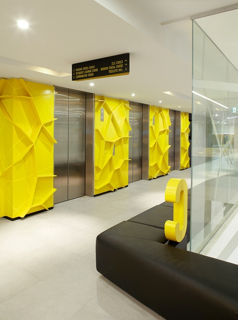 Fabio Ongarato Design, Australia | Centre for Adult Education (CAE) em Finders Lane, Melbourne.