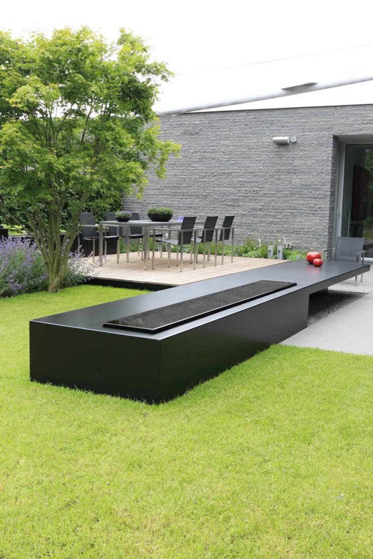 Puur groenprojecten moderne tuin met patio hoog ■ exclusieve woon en tuin inspiratie