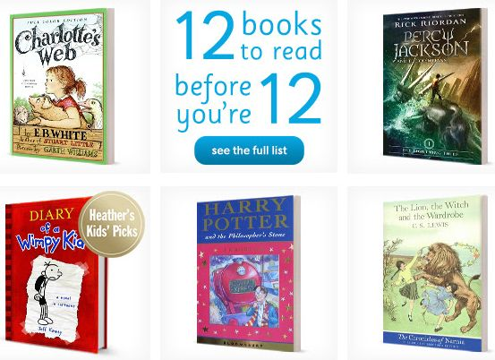 Chapters Indigo Canada Offers: 12 Books to Read Before You're 12