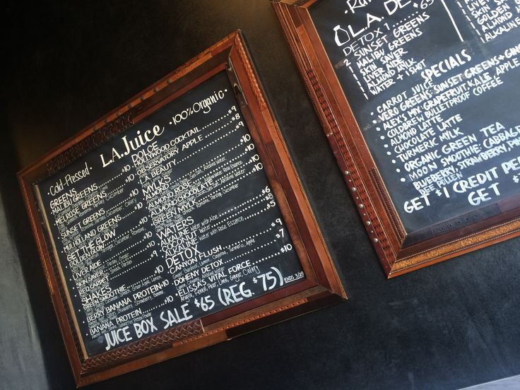 L.A. Juice in Los Angeles, CA | refreshing juice bar for a break from shopping on Melrose