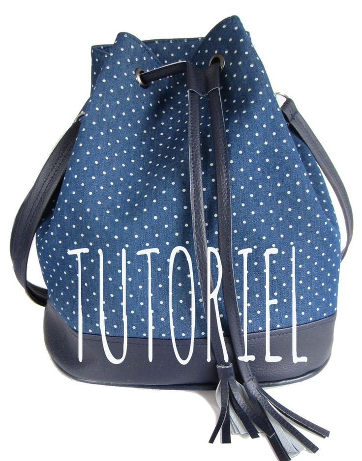 Image of Tutoriel du sac seau Louise