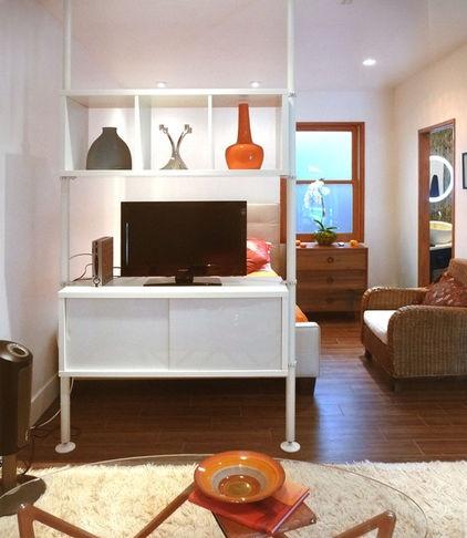 59 best garage conversions images on pinterest garage for Garage conversion to bedroom ideas