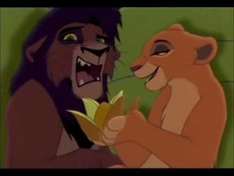 König der Löwen 2 - Erste Begegnung von Kovu und Kiara [FANDUB] - YouTube
