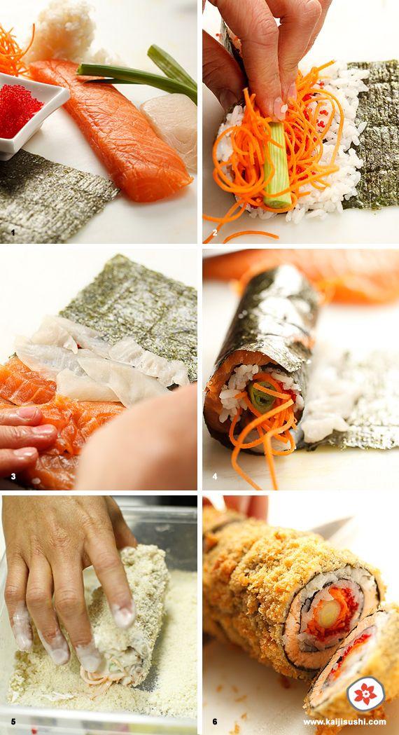 Sushi oeil de dragon