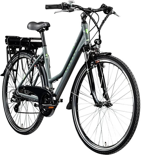 Zundapp E Bike 700c Trekkingrad Damen Pedelec Z802 Elektrofahrrad