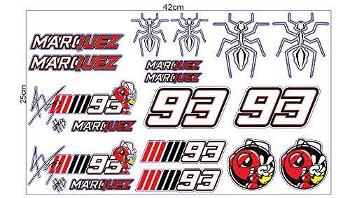 Marc Marquez Moto GP Racing (1 set 20 Sticker) Decal Aufk... https://www.amazon.com/dp/B074DTJHVX/ref=cm_sw_r_pi_dp_x_DzyGzb9DGJ2J6