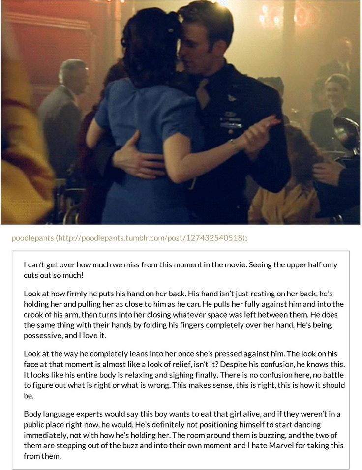 Steve Rogers' dance vision with Peggy. << As if I haven't already had enough heartache because of these two.