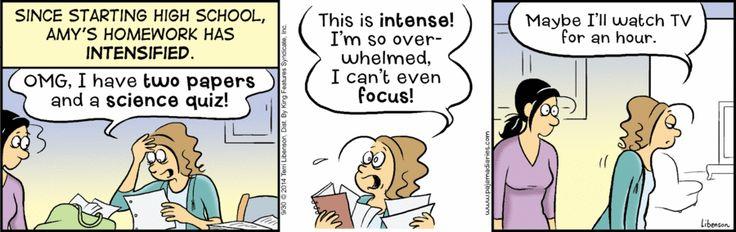 The Pajama Diaries | A Comic by Terri Libenson