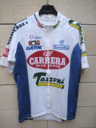 VINTAGE Maillot cycliste CARRERA Nalini Tour 95 cycling jersey 5