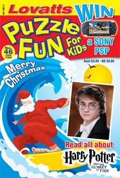 Kids Puzzle Fun 46 Christmas cover