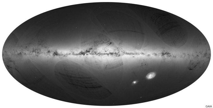 La Agencia Espacial Europea completa el mapa de la Vía Láctea más detallado…