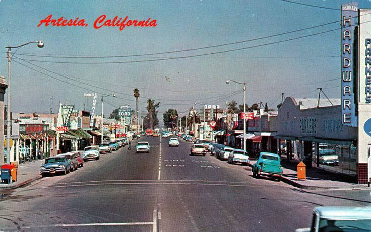 Artesia CA   Vintage Photos of '55 Chevy's only ...