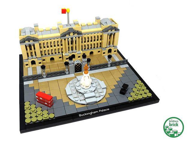 LEGO Architecture 21029 Buckingham Palace [Review]