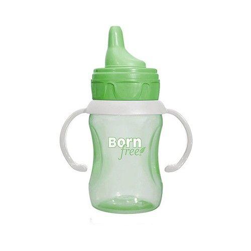 Bornfree Training Cup - 7 oz - Green - Case of 4