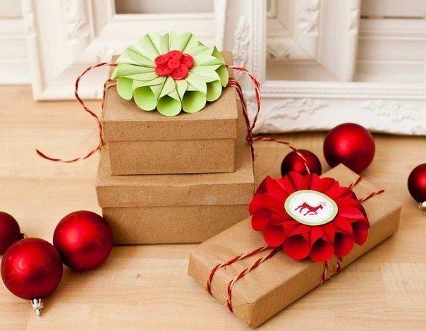 МК: Украшение подарочной упаковки
