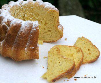 Le gâteau battu de Mercotte