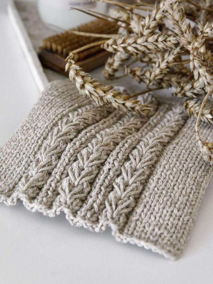 DIY | Spültücher mit Weizenmuster inkl. Anleitung – mxliving