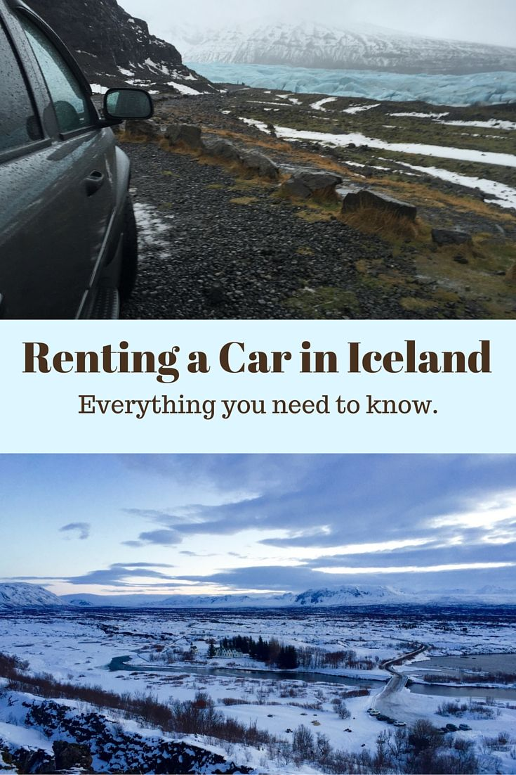 Everything you need to know about renting a car and driving Iceland's tricky roads. http://www.wanderingchocobo.com/7-things-to-know-about-driving-and-renting-cars-in-iceland/