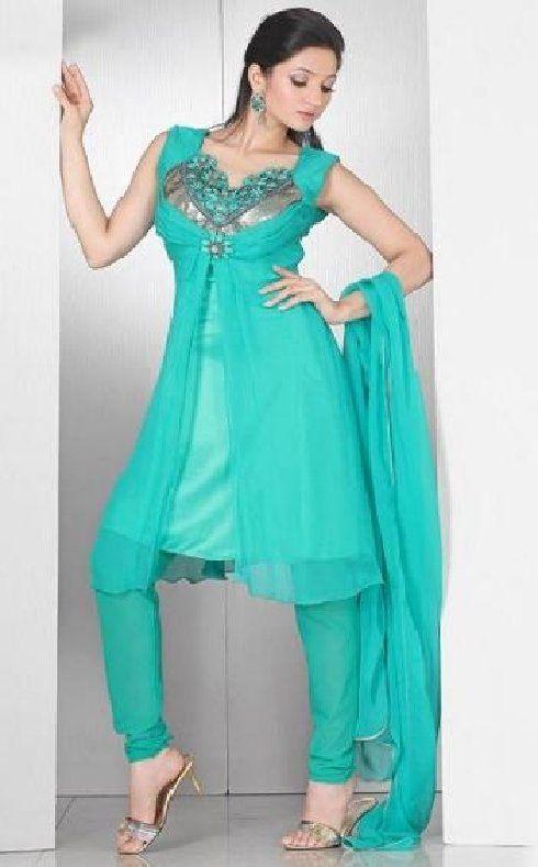 neck designs salwar kameez, kurti tunic,  pakistani dress designers@ http://ladyindia.com