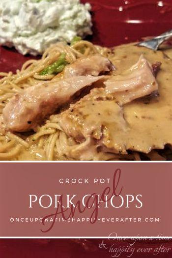 Tasty Tuesday: Slow Cooker Angel Pork Chops