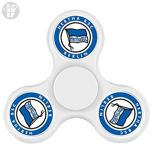 MEI SH Hertha BSC Spinner Finger Toy Relieve Stress High Speed Focus Toy For Adult And Children - Fidget spinner (*Amazon Partner-Link)