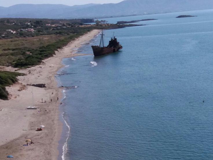 Near Gytheio  town ....Lakonia Greece 2017