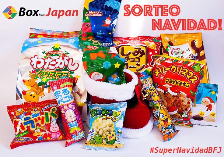 Entra en la competencia de la Super caja de Navidad de @BoxFromJapan