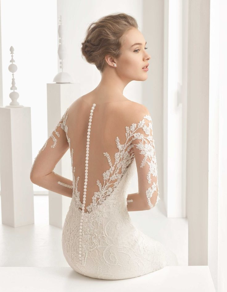 """Naim"" Floral Dress with Buttons & Illusion Back 