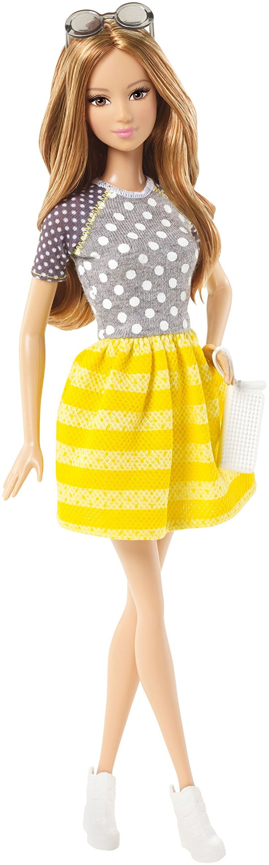 Amazon.com: Barbie Fashionistas Doll - Dots & Stripes: Toys & Games