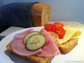 Kristins Middagstips: Saftig gulrotbrød
