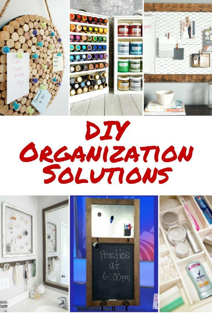 Diy Organization Solution Ideas Diy Organization Organization Solutions Home Diy