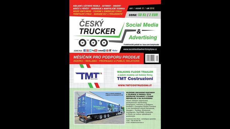 Český Trucker   září 2016