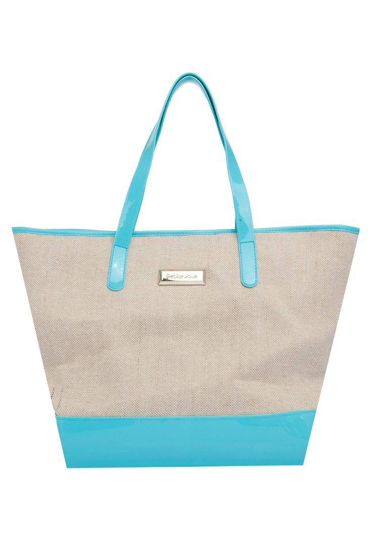 Bolsa Petite Jolie Textura Azul - Marca Petite Jolie - R$ 99,90