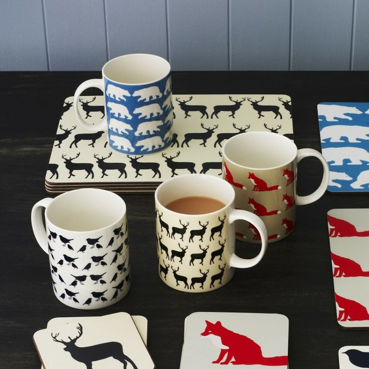 These Ceramic Mugs With Animal Prints Are A Perfect Gift