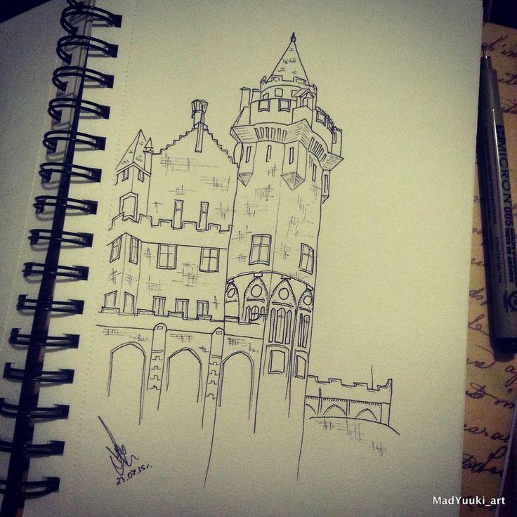 toronto's castle by Yuki-chan-xdxd on DeviantArt http://yuki-chan-xdxd.deviantart.com/ https://instagram.com/madyuuki_art/