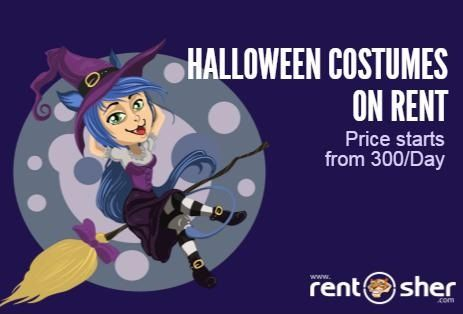 When witches go riding, and black cats are seen, The moon laughs and whispers, its near Halloween. Hire #Halloween costumes from RentSher and Get it deliver to doorstep. visit us for more details: Bangalore - http://bit.ly/2e6aVUj Delhi - http://bit.ly/2dWvRAx