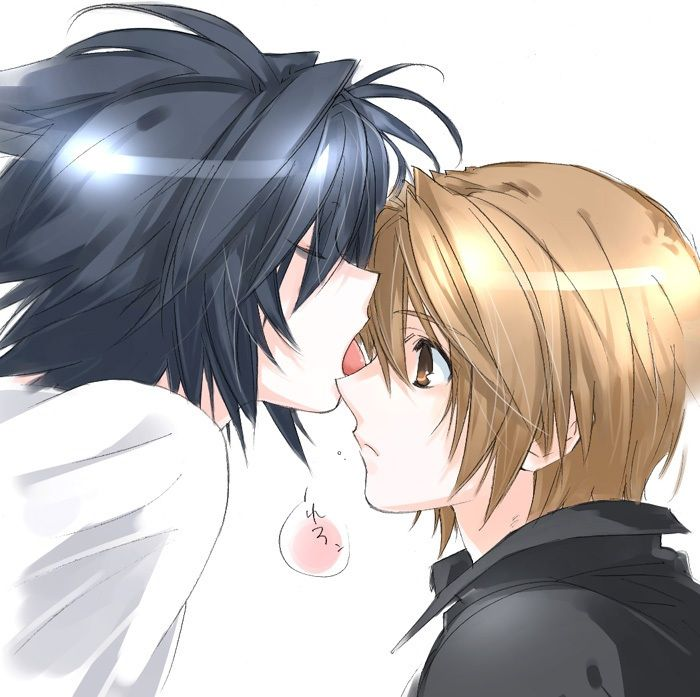 L-and-Light-Death-Note-yaoi-34990610-700-697.jpg (700×697 ...