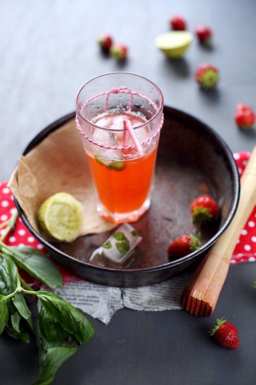 boisson-fraise-basilic Chef Nini