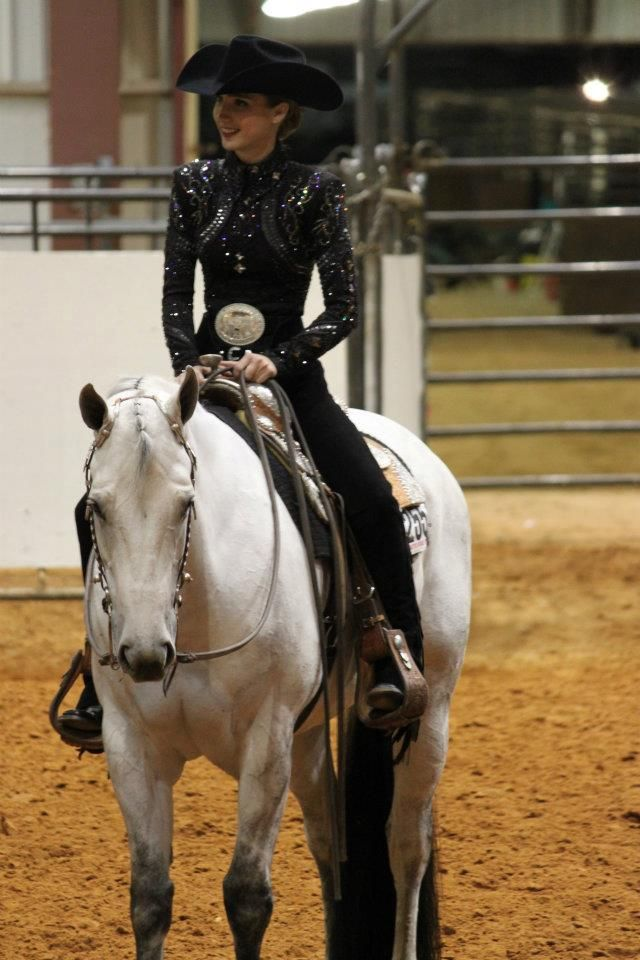 Horse Show Style. love this top! simple but flashy