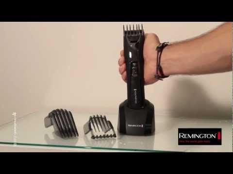 Tuto coiffure : Une coupe de cheveux homme tendance avec la tondeuse Remington HC5750 - YouTube